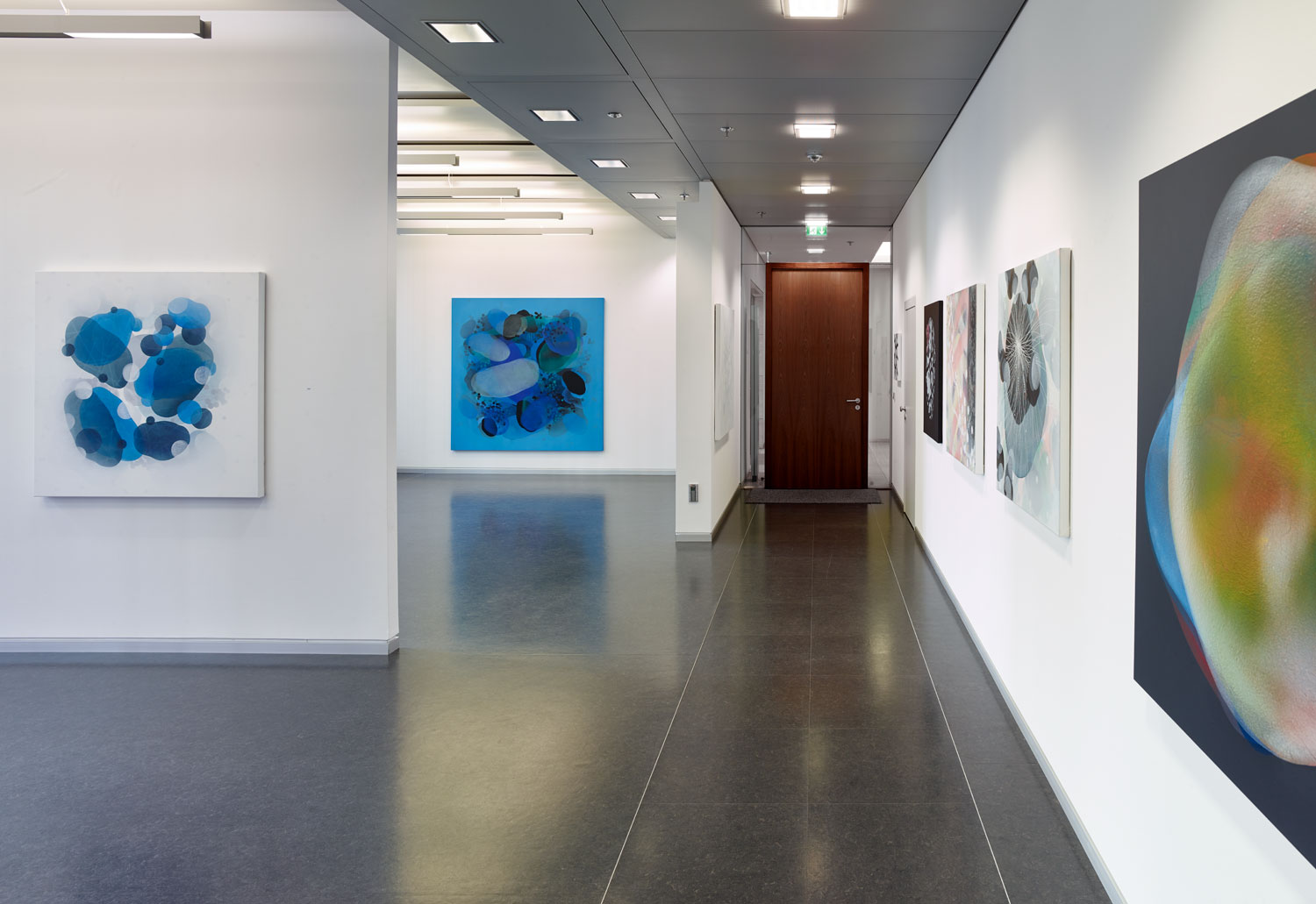 Exhibition Logical Paintings, Frankfurt, 2017