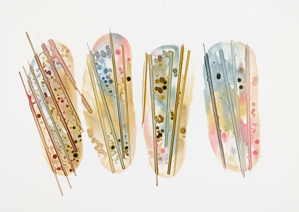 Michelle Concepción, works on paper, whimsical